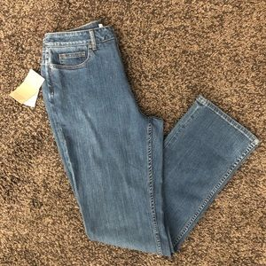 NWT Coldwater Creek Straight Leg Jeans